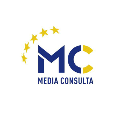 Logo MEDIA CONSULTA Berlin, Referenz translation, proofreading & copyediting, language and intercultural training, English